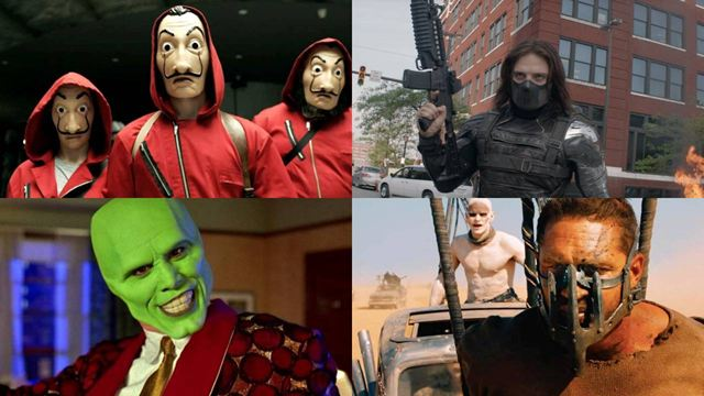10 personajes de cine y series a los que la mascarilla les sienta estupendamente