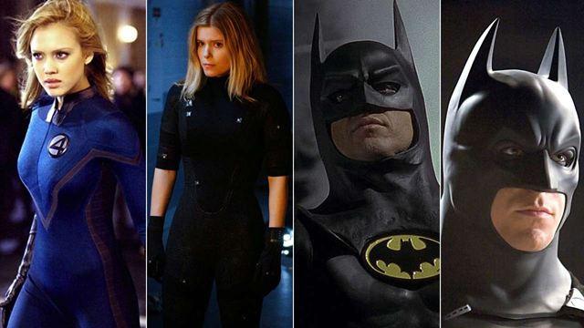 18 personajes de cine que han sido interpretados por diferentes actores y actrices