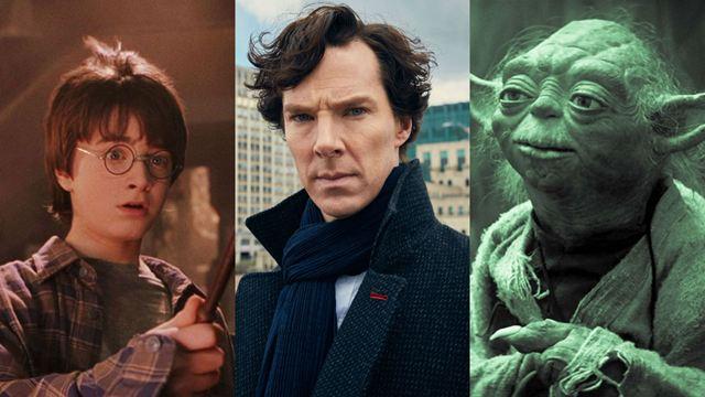 Harry Potter, Rocky, Darth Vader y otros personajes de películas y series con una estatua