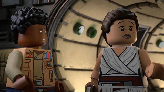 'Lego Star Wars: Especial felices fiestas' (Disney+): Adelanto en EXCLUSIVA con Rey, Poe, Finn y muchos más