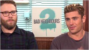 'Malditos vecinos 2': Sus protagonistas Seth Rogen y Zac Efron nos hablan sobre la secuela