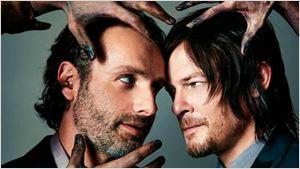 'The Walking Dead': el hilarante ataque de Norman Reedus a Andrew Lincoln...¡Con purpurina!