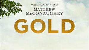 'Gold': Matthew McConaughey es un buscador de oro en el primer póster de la película
