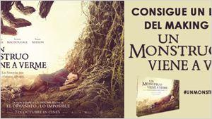 ¡Gana el libro del making de 'UN MONSTRUO VIENE A VERME'!