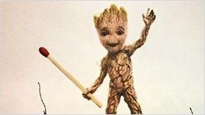 'Guardianes de la Galaxia Vol. 2': Baby Groot juega con dinamita en el nuevo póster