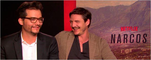 """Entrevista a Wagner Moura y Pedro Pascal ('Narcos'): """"Tienes que aceptar a hacer una tercera temporada sin mí"""""""