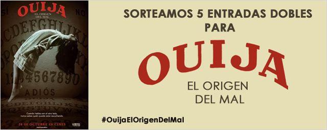 ¡Consigue una entrada doble para 'Ouija: el origen del mal'!