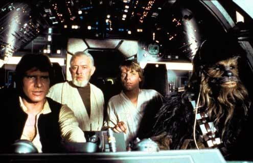 la guerra de las galaxias filmografia: