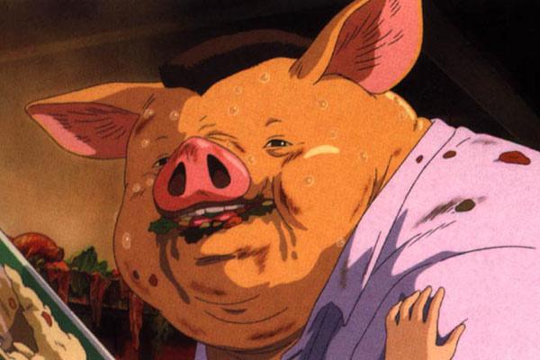 Foto de el viaje de chihiro foto 15 sobre 17 - Papa cochon a la piscine ...