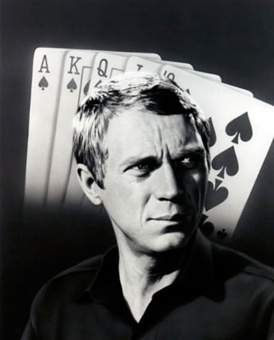 foto de steve mcqueen el rey del juego foto steve mcqueen. Black Bedroom Furniture Sets. Home Design Ideas