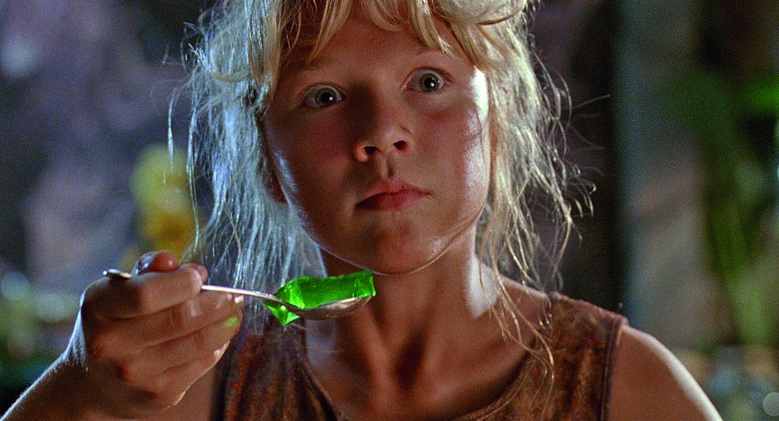 Foto de Ariana Richards en la película Jurassic Park (Parque...