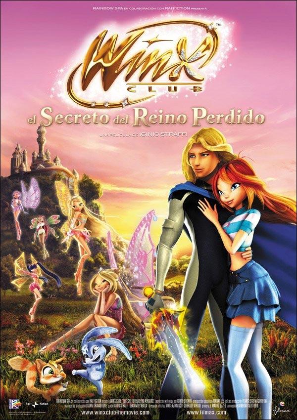 Winx club el secreto del reino perdido fotos y carteles for Banda sonora de el jardin secreto