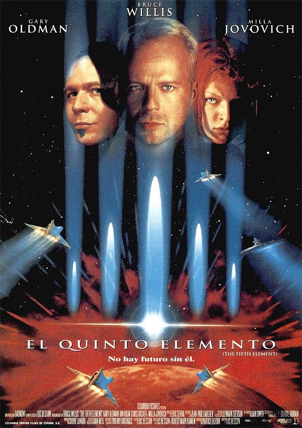 póster el quinto elemento