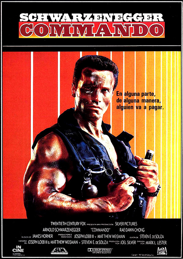 Commando: Fotos y cart... Rae Dawn Chong Poster