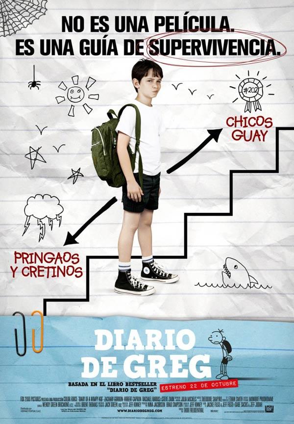 Diario De Greg Película 2010 Sensacine Com