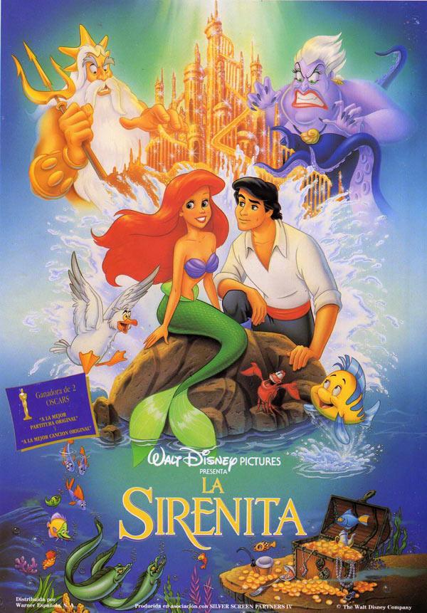 La Sirenita Película 1989 Sensacine Com