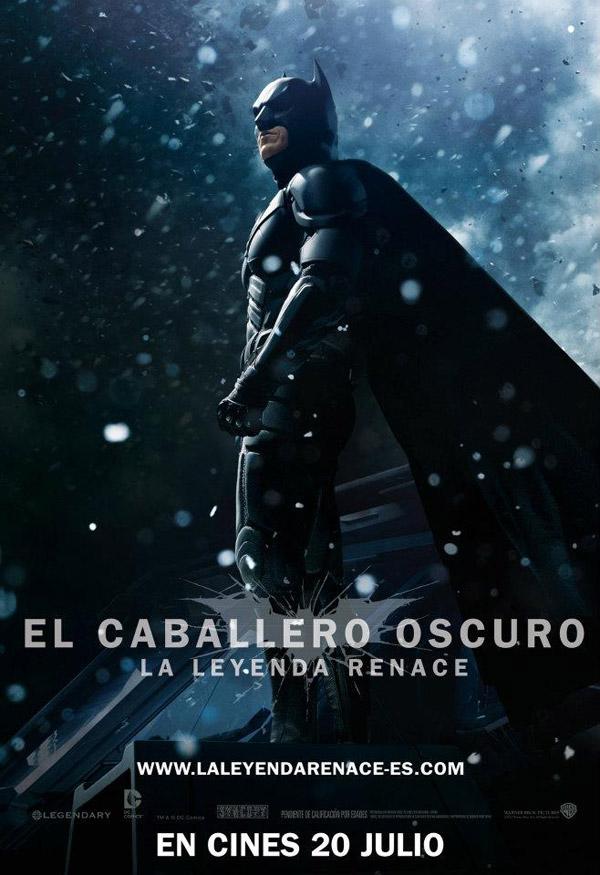cartel de el caballero oscuro la leyenda renace poster