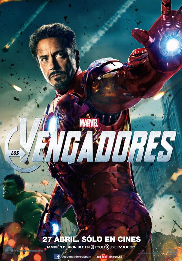 Cartel de Marvel Los V... Robert Downey