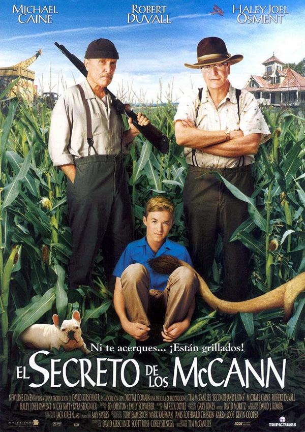 El secreto de los mccann pel cula 2003 for Banda sonora de el jardin secreto