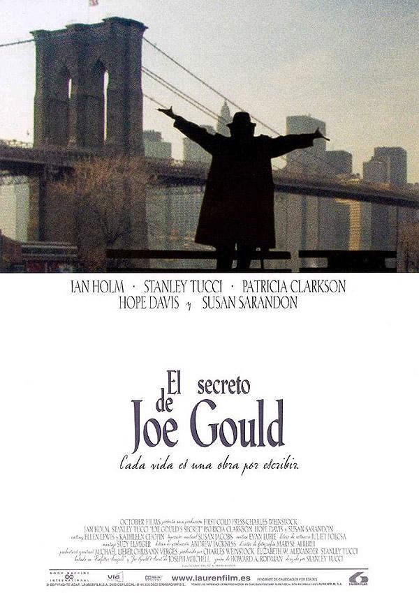 El secreto de joe gould pel cula 2000 for Banda sonora de el jardin secreto
