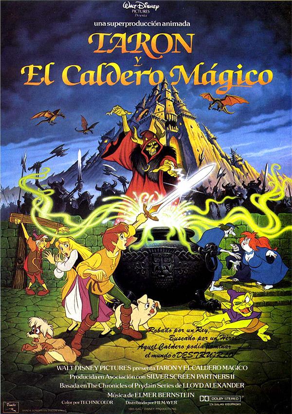Taron y el caldero mágico - Película 1985 - SensaCine.com