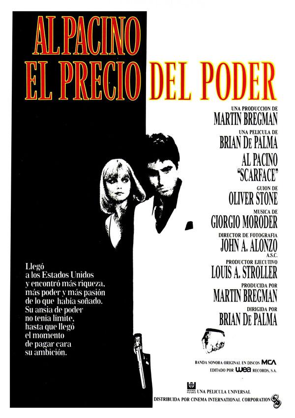 El Precio Del Poder Película 1983 Sensacinecom