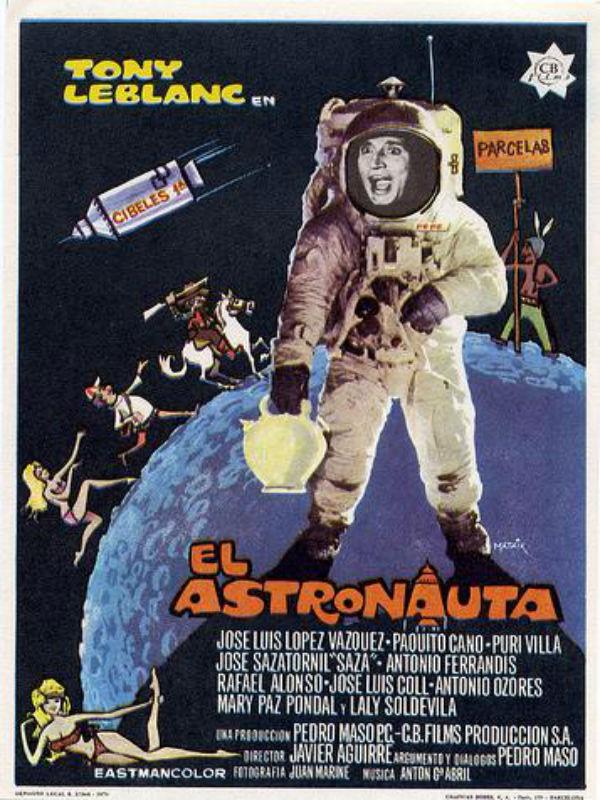 El astronauta pel cula 1970 for El cuarto piso pelicula
