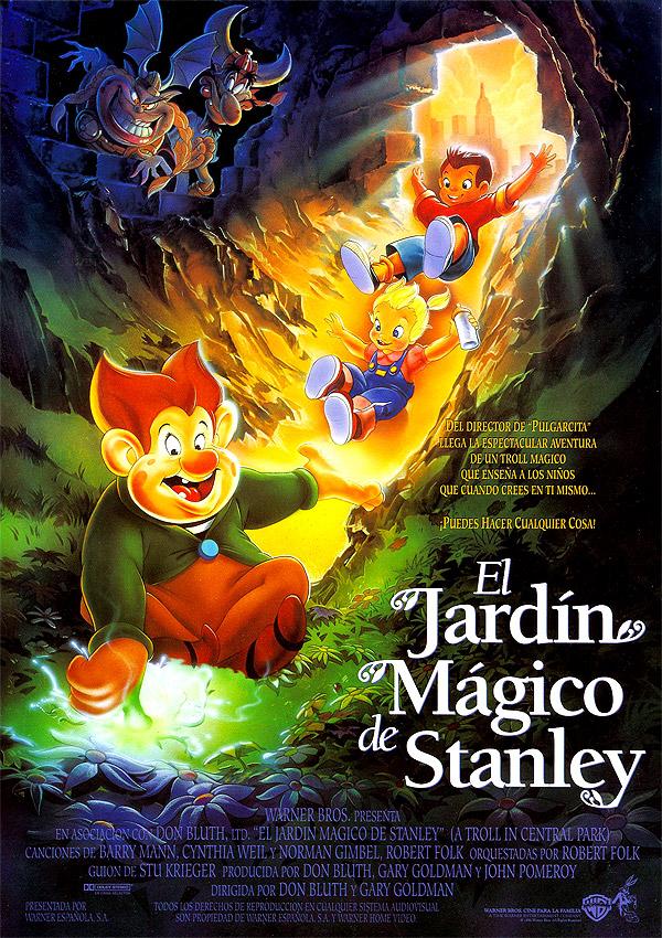 Cartel de el jard n m gico de stanley poster 1 for El jardin magico