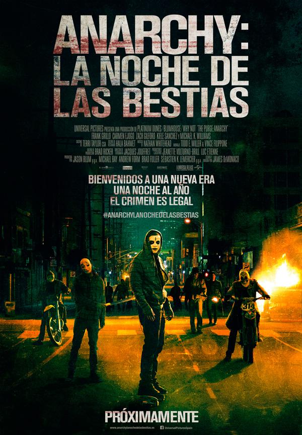 La Noche De La Expiacion 2 (2014) [Dvdrip] [Latino] [1 Link]