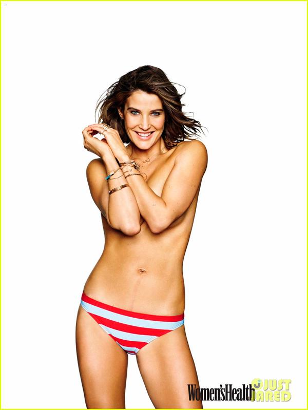Cobie Smulders desnuda entre Robin Scherbatsky y