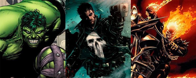 Marvel podría adaptar a televisión 'Hulk', 'Punisher', 'El
