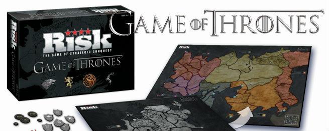 Juego de tronos ya tiene su propio Risk  Noticias de series