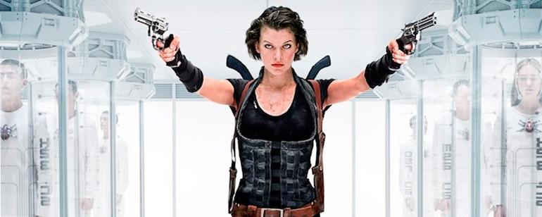 En una invasion Zombi Te aparece Milla Jovovich Que Haces?
