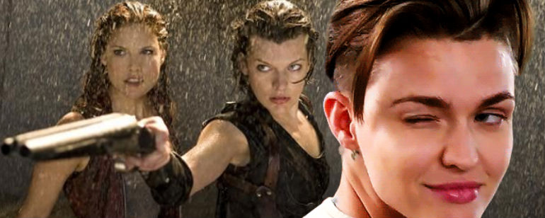 Resident Evil The Final Chapter Ruby Rose: 'Resident Evil: The Final Chapter': Milla Jovovich