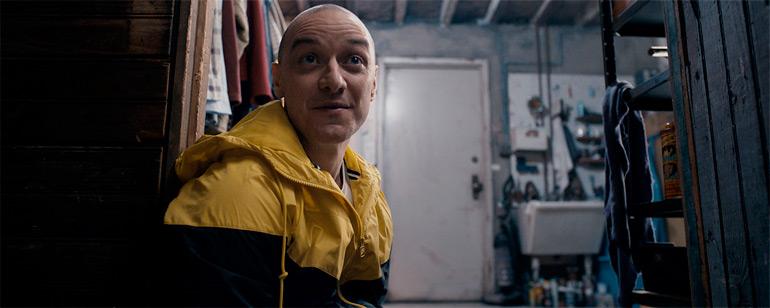 """Kevin, el protagonista de """"Múltiple""""."""