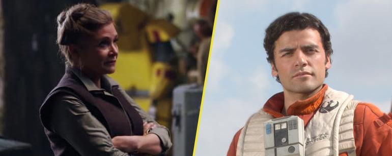'Star Wars': Carrie Fisher abofeteó a Oscar Isaac 27 veces durante el rodaje de 'Los últimos Jedi'