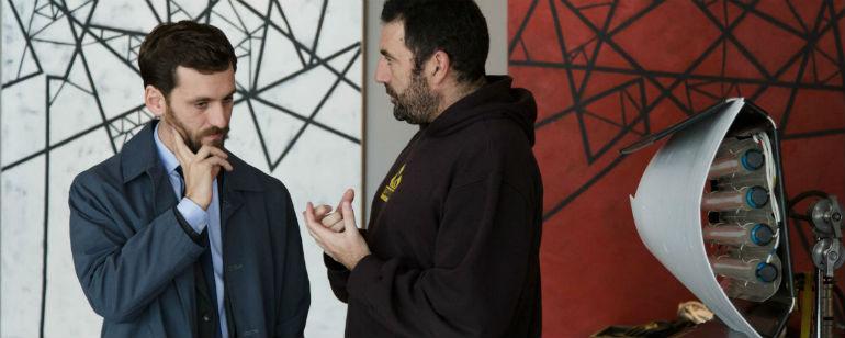 'El aviso': Entrevistamos a Raúl Arévalo y Daniel Calparsoro en el rodaje de la película