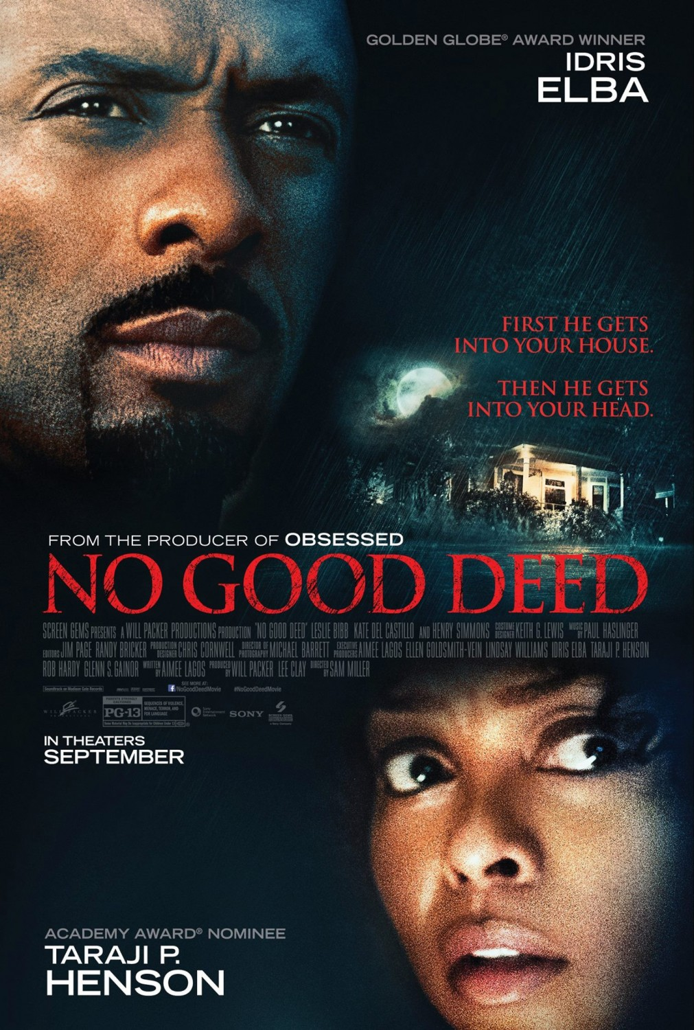 """No Good Deed"" lidera la taquilla norteamericana"