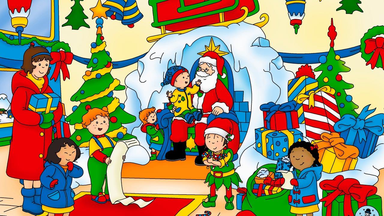 Foto de La navidad de Caillou  Foto 1 sobre 2  SensaCinecom