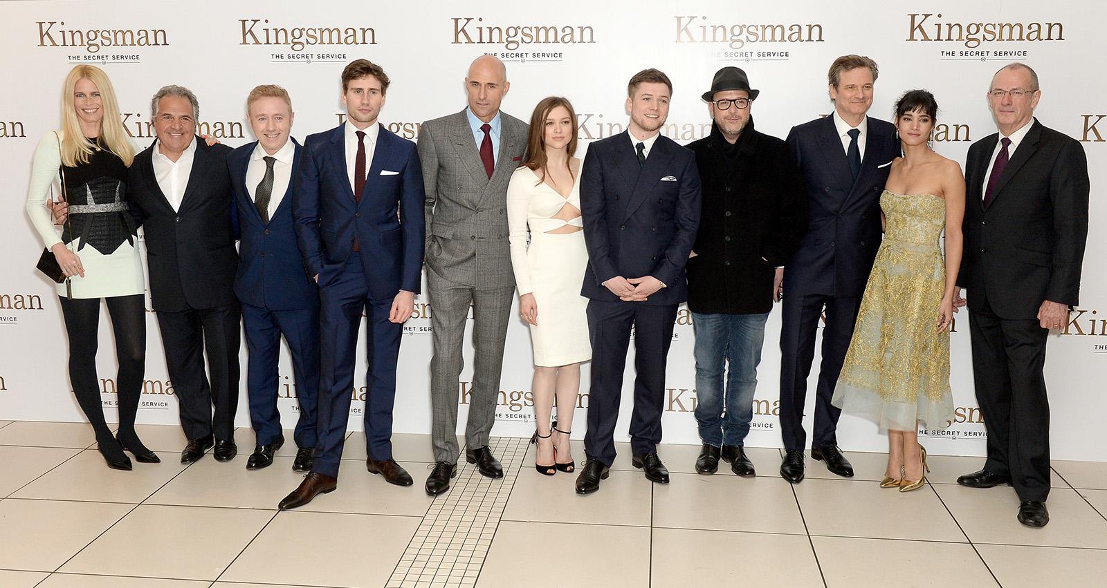 Colin Firth Taron Egerton Sophie Cookson About Kingsman: Foto De Kingsman: Servicio Secreto
