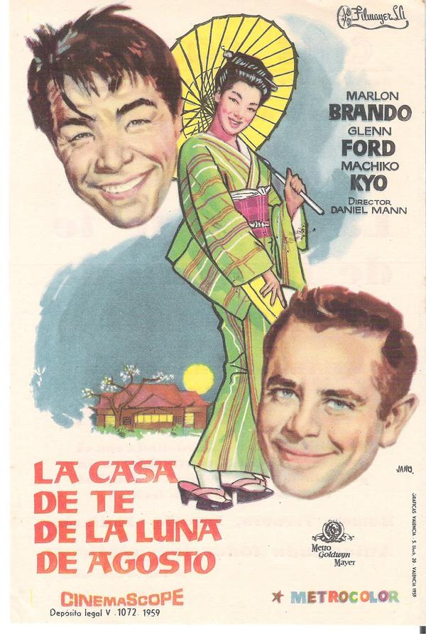 La casa de t de la luna de agosto pel cula 1956 - Casa de la luna ...