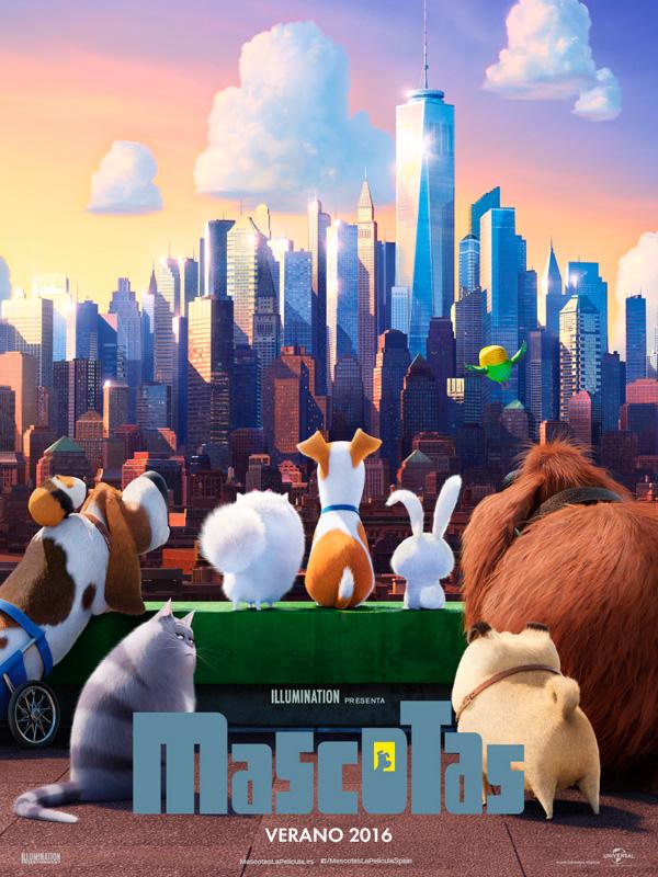 poster de la pelicula mascotas