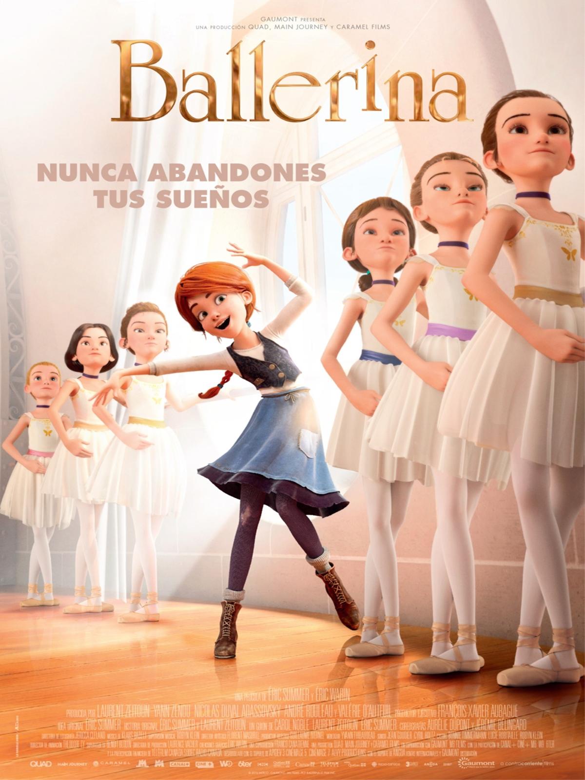 Resultado de imagen de pelicula de animacion bailarina