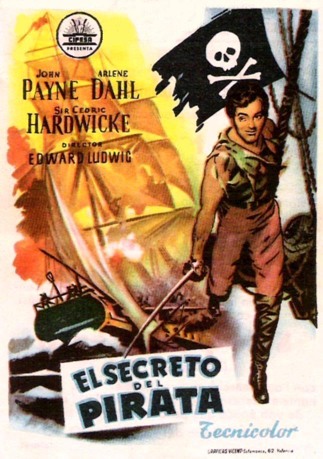 El secreto del pirata pel cula 1952 for Banda sonora de el jardin secreto