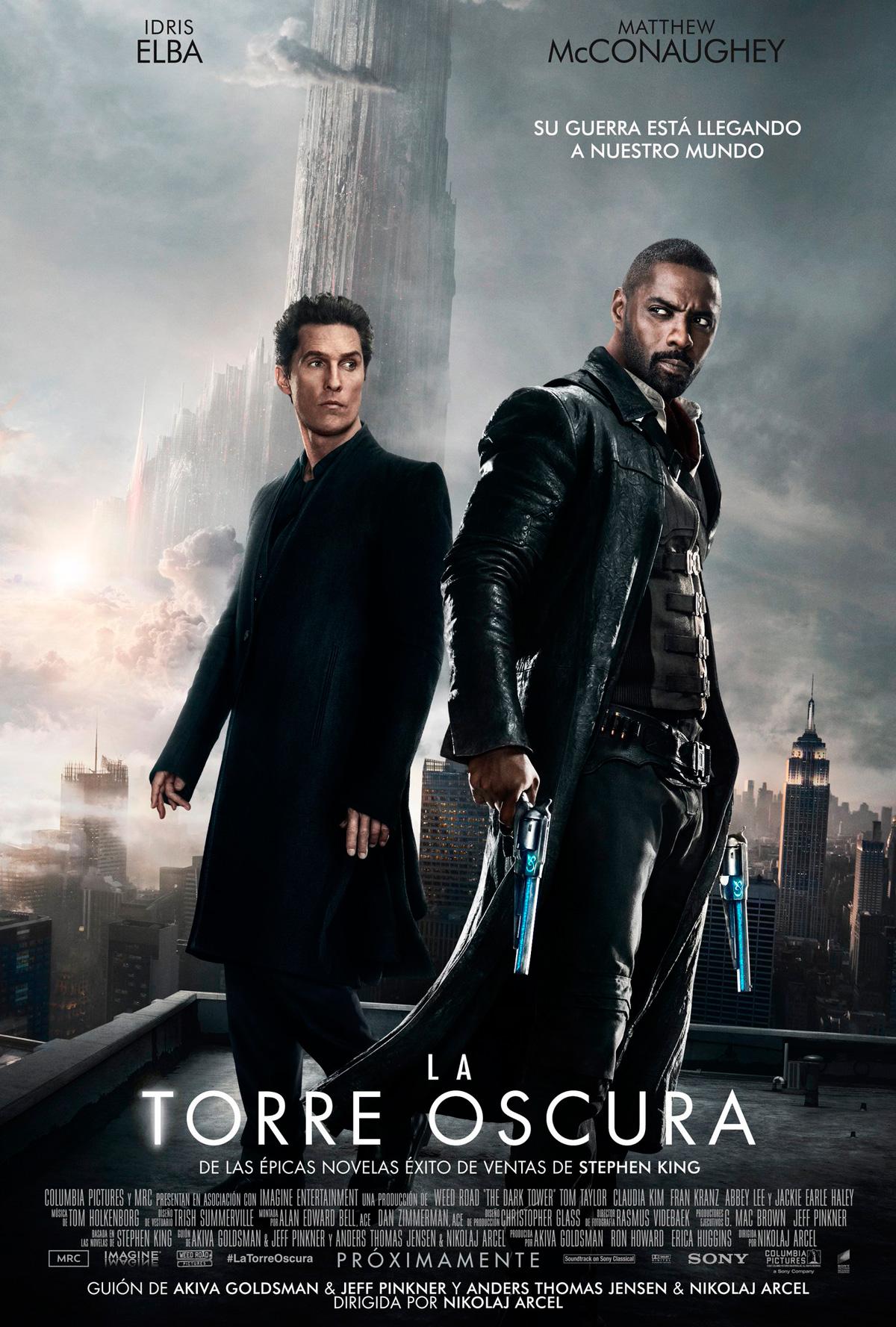 Resultado de imagen para la torre oscura pelicula poster