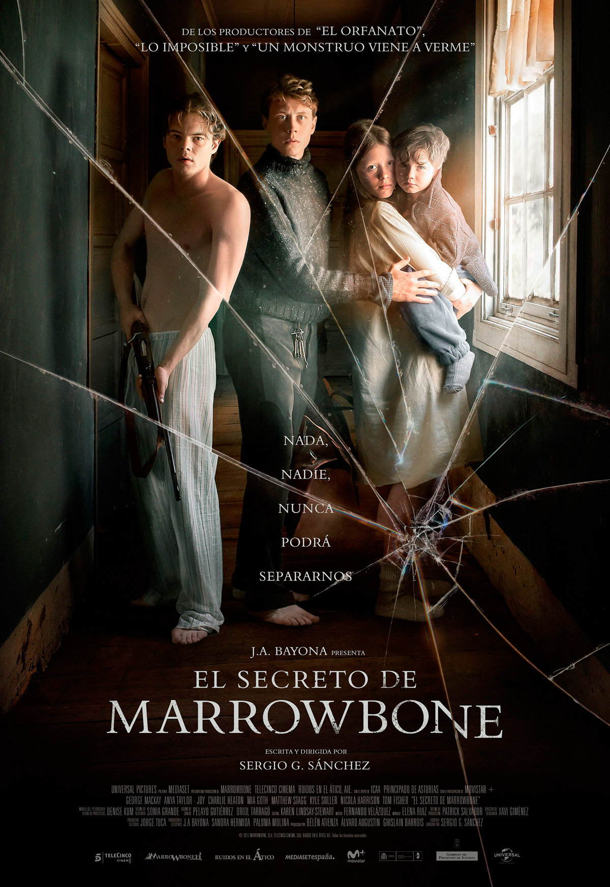 El secreto de marrowbone pel cula 2017 for Banda sonora de el jardin secreto