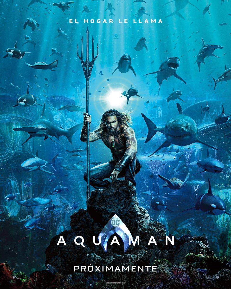 Aquaman Tráiler Sensacinecom