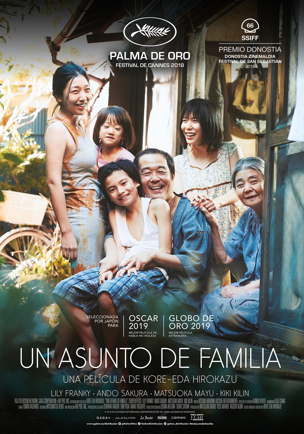 Un Asunto De Familia Película 2018 Sensacinecom