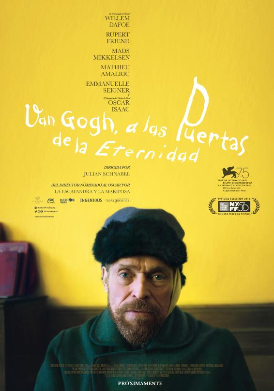 Van Gogh A Las Puertas De La Eternidad Película 2018 Sensacine Com