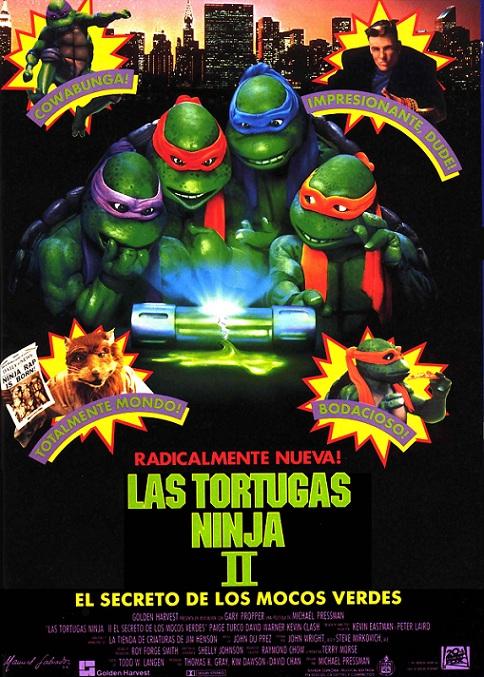 Reparto las tortugas ninja ii el secreto de los mocos for Banda sonora de el jardin secreto